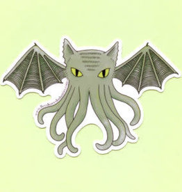 Bee's Knees Sticker Cat-thulhu