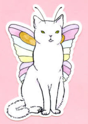 Bee's Knees Sticker Catterfly