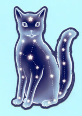 Bee's Knees Sticker Celestial Cat
