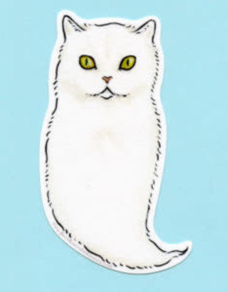 Bee's Knees Sticker Ghost Cat