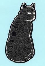 Bee's Knees Sticker Moon Phase Cat