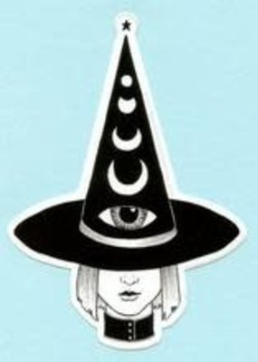 Bee's Knees Sticker Third Eye Witch