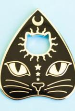 Bee's Knees Enamel Pin Cat Planchatte