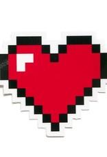 Smarty Pants Paper Sticker Pixel Heart