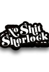 Studio Inktvis Sticker No Shit Sherlock