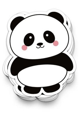Studio Inktvis Sticker Panda