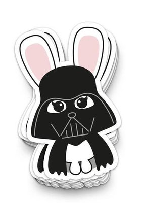 Studio Inktvis Sticker Star Wars Darth Bunny