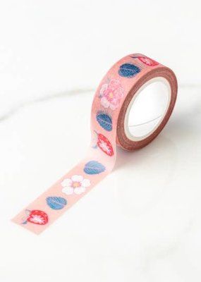 Ilootpaperie Washi Sweet Strawberry And Flower