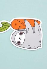 Noristudio Vinyl Sticker Sloth And Carrot