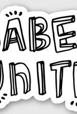 Art Jaden Sticker Babes Unite