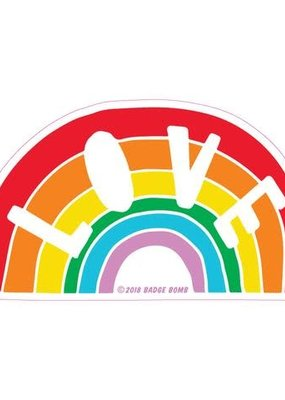 Sticker Love Rainbow