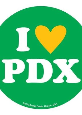 Sticker I Heart PDX