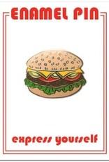 The Found Enamel Pin Hamburger