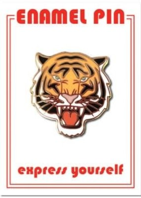 The Found Enamel Pin Tiger