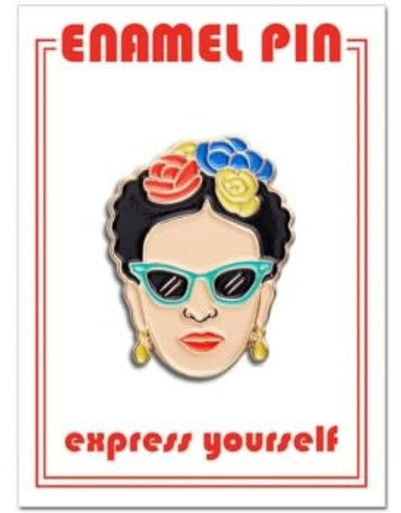 The Found Enamel Pin Frida Sunglasses
