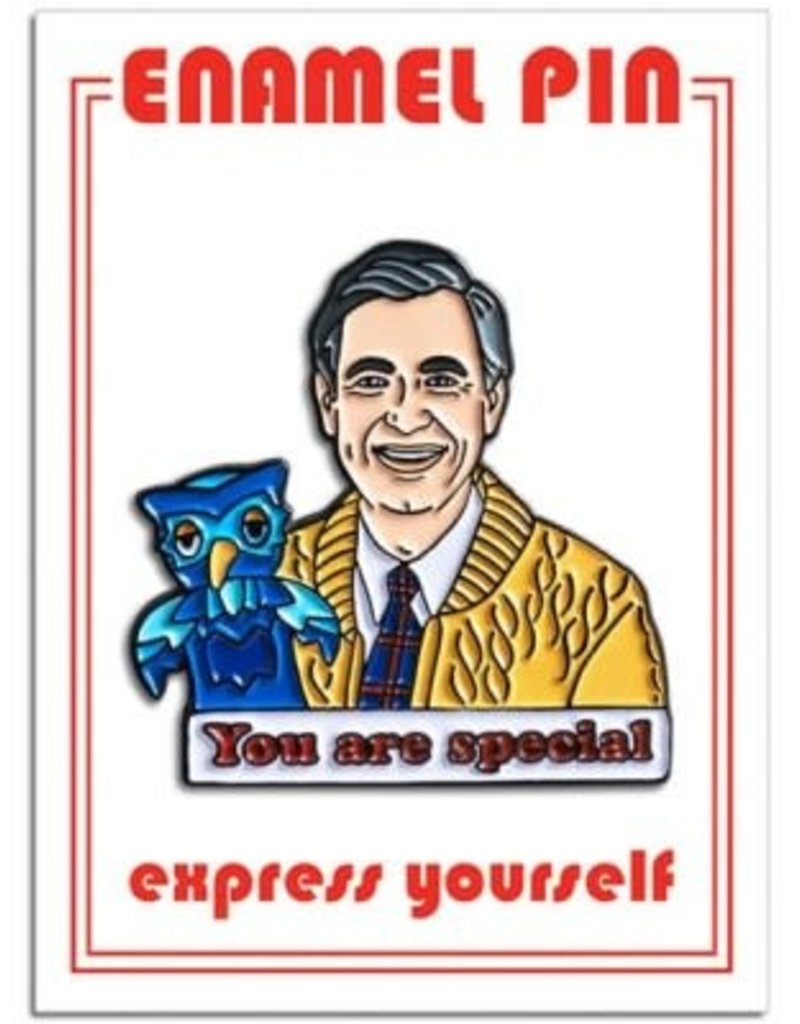 The Found Enamel Pin Mr Rogers