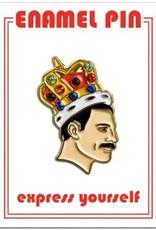 The Found Enamel Pin Freddie Mercury