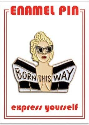 The Found Enamel Pin Lady Gaga Born This Way