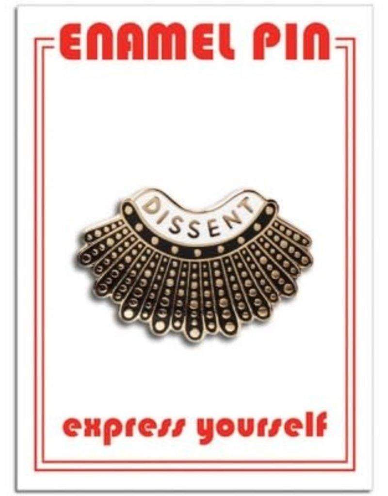The Found Enamel Pin Dissent Collar