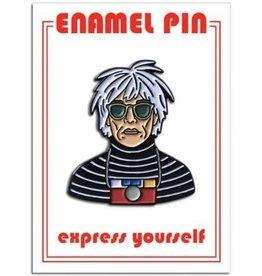 The Found Enamel Pin Andy Warhol