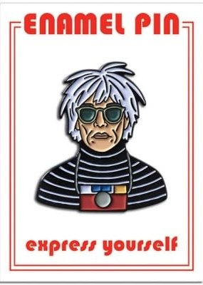 The Found Enamel Pin Andy Warhol