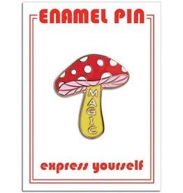 The Found Enamel Pin Magic Mushroom