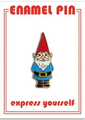 The Found Enamel Pin Gnome