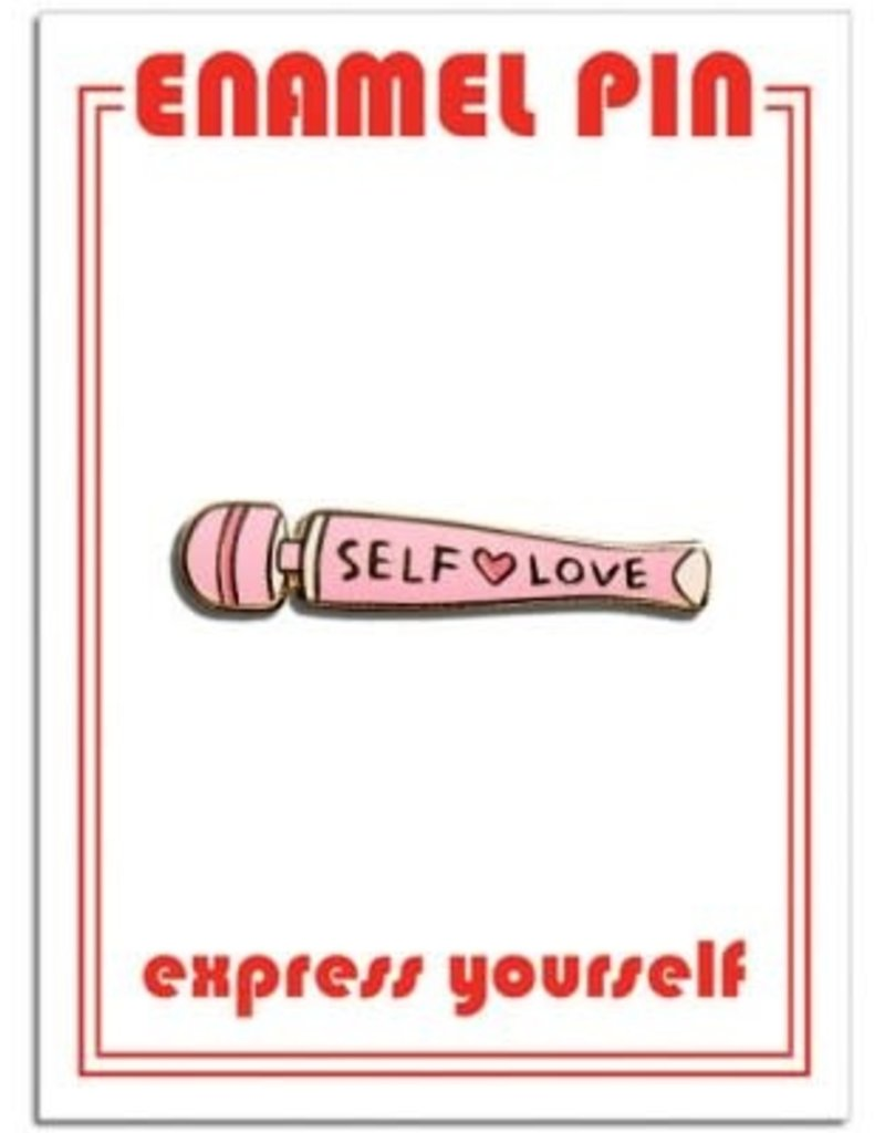The Found Enamel Pin Self Love Vibrator