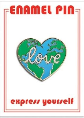 The Found Enamel Pin Earth Love