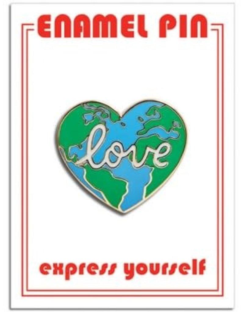 The Found Enamel Pin Earth Love