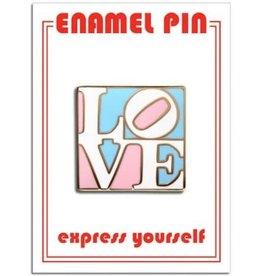 The Found Enamel Pin Trans Love
