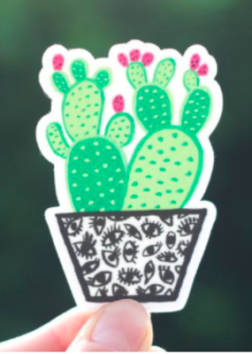 Cactus Club Sticker Cactus Eye