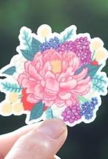 Cactus Club Sticker Peony