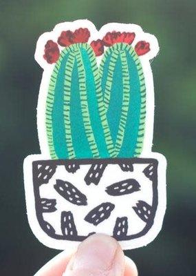 Cactus Club Sticker Cactus Frida