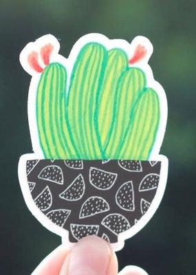 Cactus Club Sticker Cactus Bowl