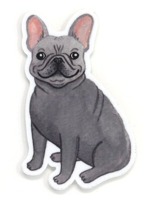Cactus Club Sticker Frenchie