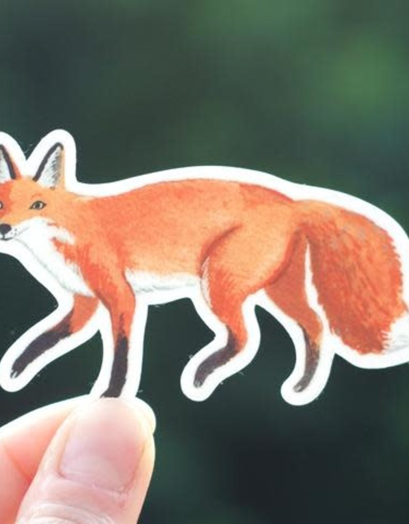 Cactus Club Sticker Fox