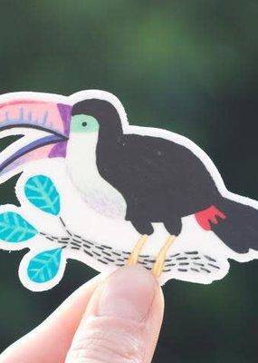 Cactus Club Sticker Toucan