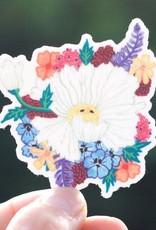 Cactus Club Sticker Matilija Poppy