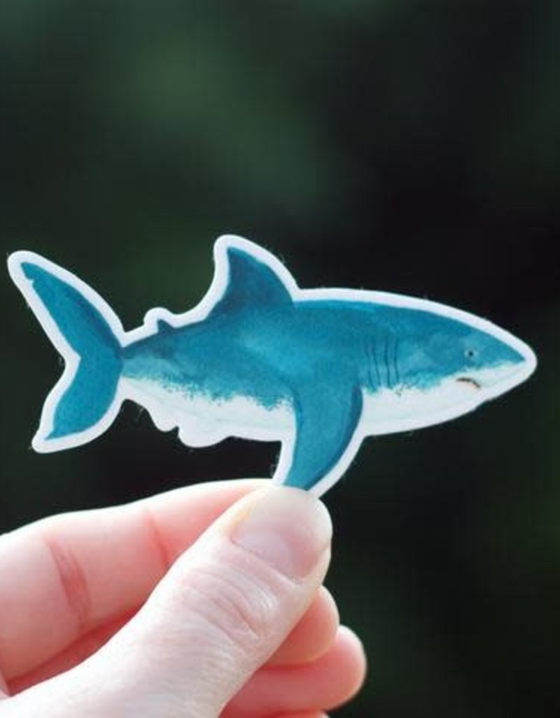 Cactus Club Sticker Shark