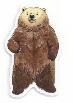 Cactus Club Sticker Bear