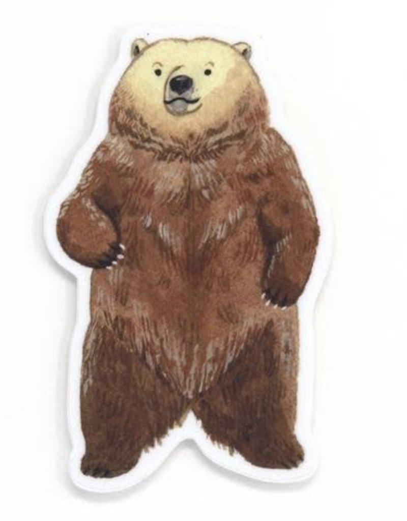 Cactus Club Sticker Bear