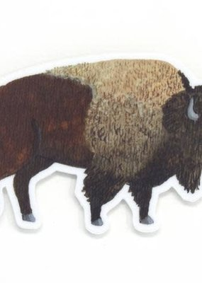 Cactus Club Sticker Bison