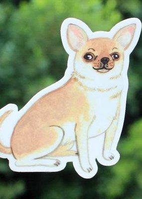 Cactus Club Sticker Chihuahua
