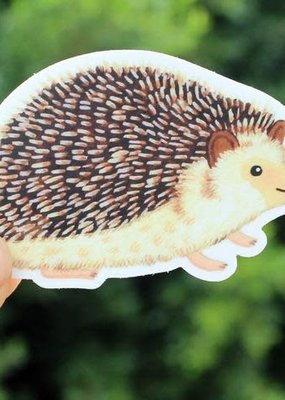 Cactus Club Sticker Hedgehog