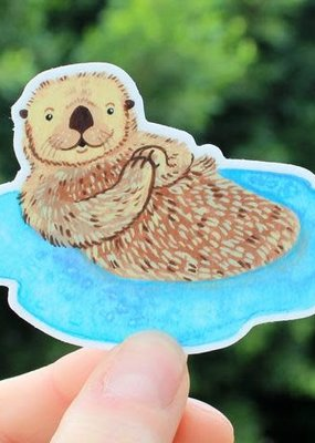Cactus Club Sticker Otter