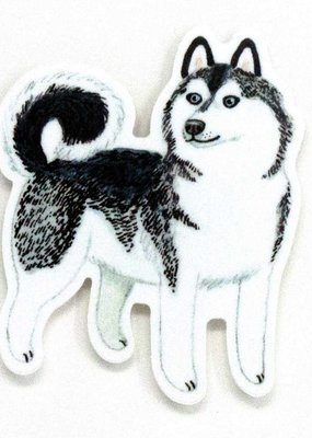 Cactus Club Sticker Husky