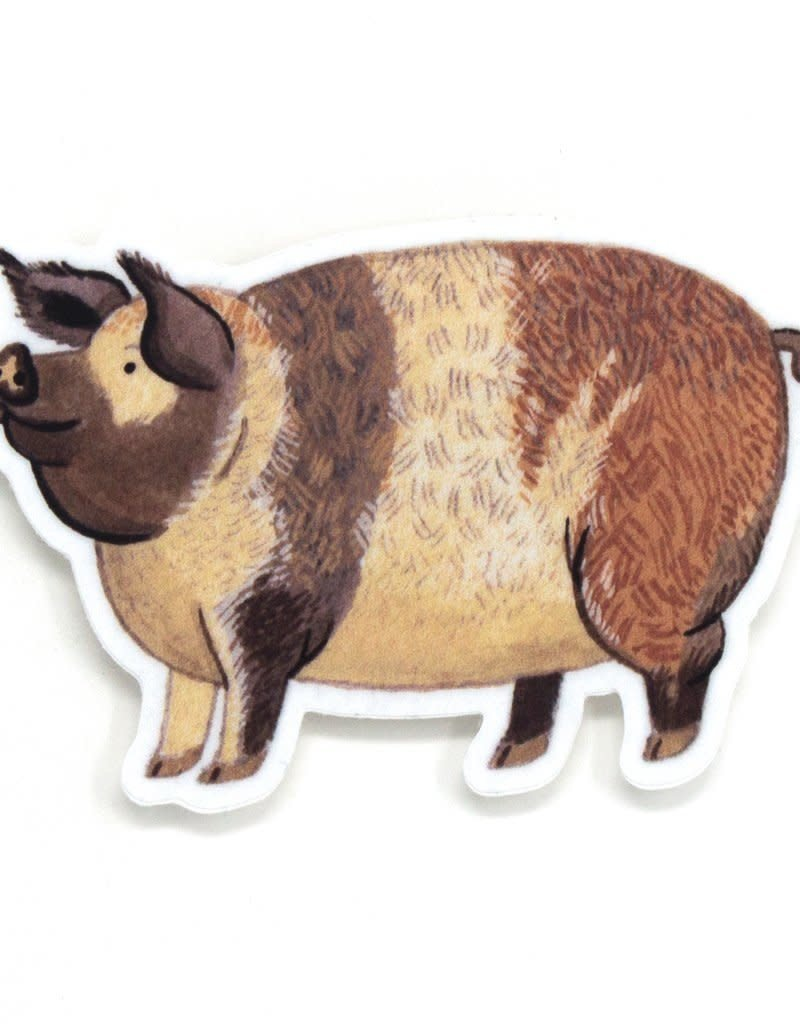 Cactus Club Sticker Pig