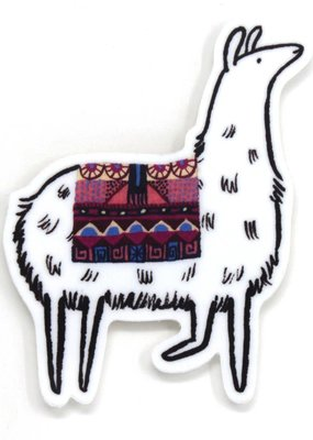 Cactus Club Sticker Llama