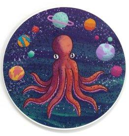 Cactus Club Sticker Octopus in the Sky